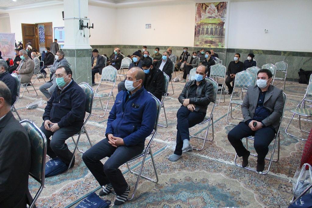 گزارش تصویری از حضور نمایندگان جامعه اصناف شهرستان شهریار در مراسم گرامیداشت ۹ دی
