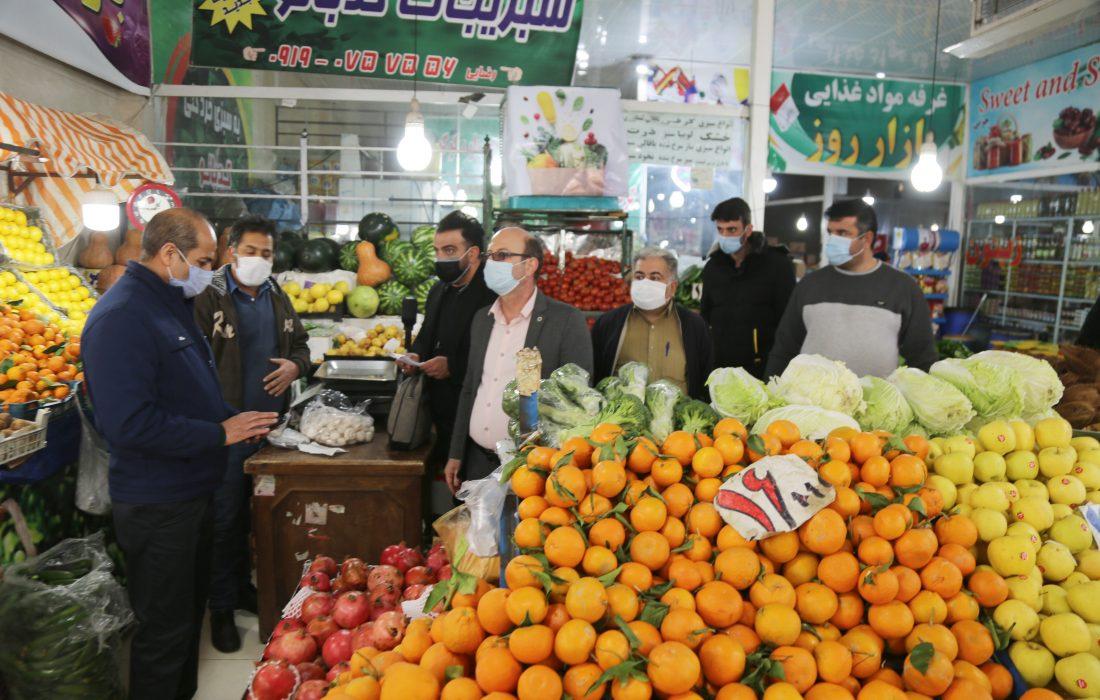 گزارشی تصویری از گشت مشترک اصناف شهرستان شهریار