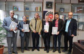 حیدری طی مراسمی از اعضاء هیئت مدیره اتحادیه صنف قنادان شهرستان شهریار تقدیر کرد