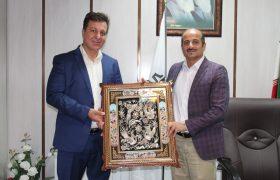 رئیس اتحادیه صنفی مصنوعات پلیمری و ظروف یکبار مصرف شهرستان شهریار از رحمت حیدری تقدیر کرد