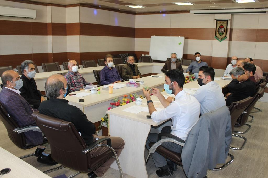 بیست و یکمین جلسه کمیسیون اقتصادی اتاق اصناف شهرستان شهریار برگزار شد