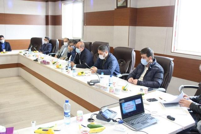 گزارش تصویری از جلسه تخصصی پیشگیری از گسترش بیماری کرونا ویژه اصناف شهرستان شهریار برگزار شده در ۲ آذر ۱۳۹۹