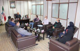 حیدری طی مراسمی از اعضاء هیئت مدیره اتحادیه صنف موسسات کرایه خودرو دربستی شهرستان شهریار تقدیر کرد