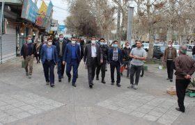 گزارش تصوویری از گشت و بازدید میدانی مشترک در شهرستان شهریار