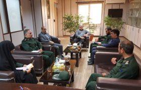 نشست مشترک بسیج سپاه و اصناف شهریار برگزار شد