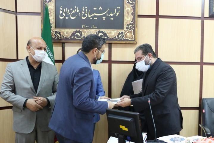 مهندس رضا مصلحی ریاست اداره صمت شهریار بهعنوان مدیر برتر شهرستان شهریار معرفی گردید