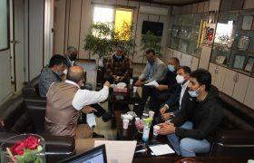 جلسه هم اندیشی و بررسی معضلات مدیریتی پاره ای از اتحادیه های صنفی شهریار برگزار گردید