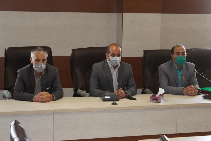 نشست مشترک رؤسای اصناف شهریار و سازمان فنی و حرفهای برگزار شد