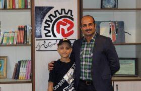 نشست صمیمی رئیس اتاق اصناف شهریار با هنرمندان جوان شهرستان شهریار