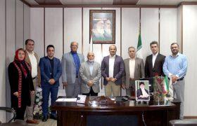 نشست مشترک اعضاء هیئتمدیره اتحادیه صنفی مشاورین املاک شهرستان شهریار و رئیس اتاق اصناف برگزار شد
