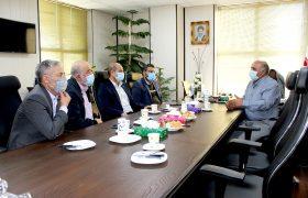 اولین نشست مشترک اعضاء هیئت رئیسه اتاق اصناف شهریار و رئیس کمیسیون نظارت بر اصناف شهرستان شهریار با شهردار شهریار