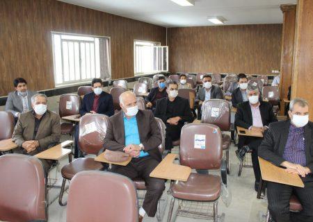 گزارش تصویری از جلسه توجیهی و نظارت بر اجرای پروتکلهای بهداشتی ویروس کرونا در شهرستان شهریار